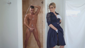 Stuck Up Stepmom Cory Chase Wants Big Young Cock Of Her Stepson In Stepmom Porn